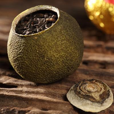 小青柑普洱茶